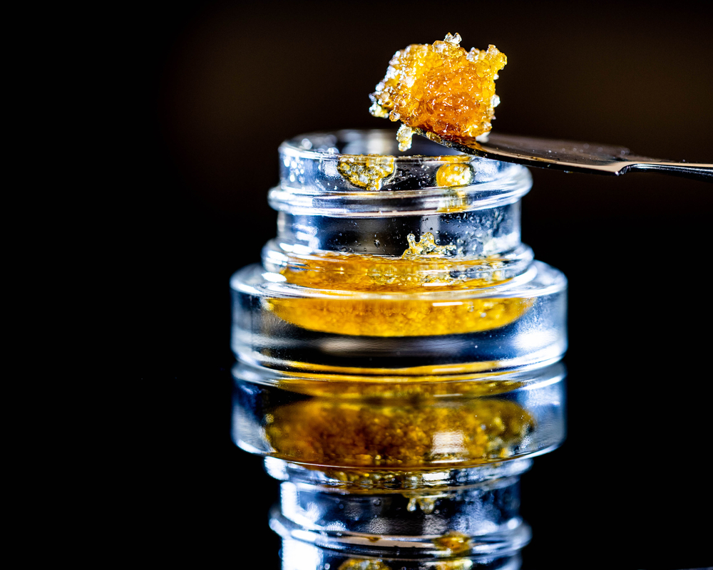 live resin in a jar