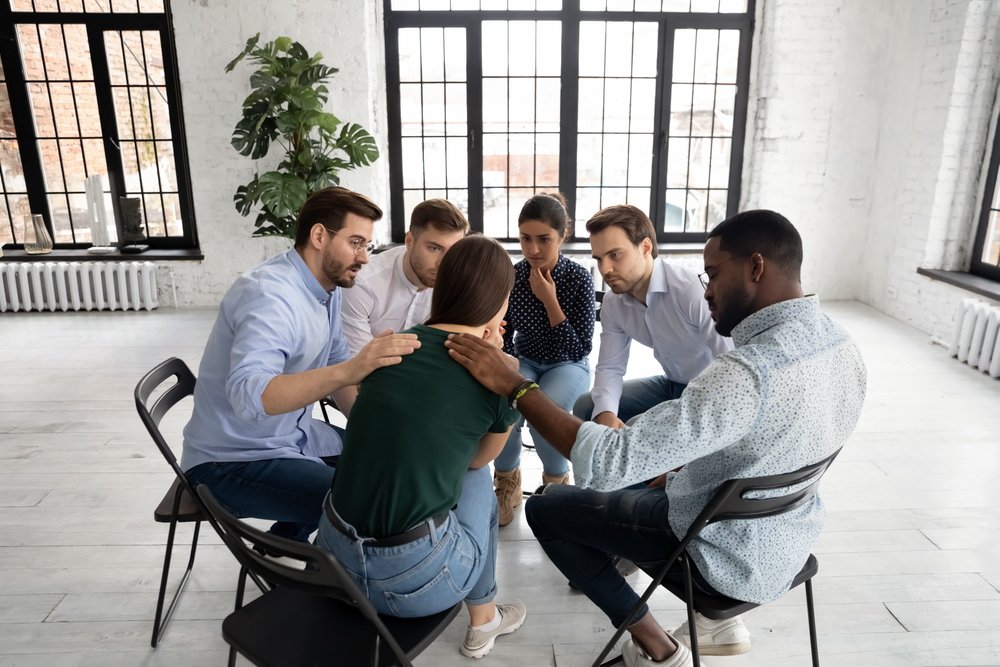 group therapy program rehab